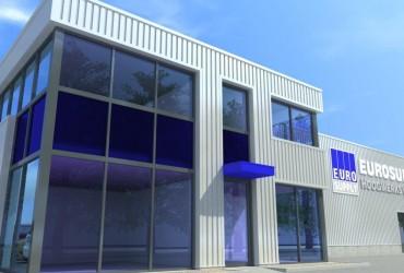 Renovatie en uitbreiding bedrijfsruimte met kantoor