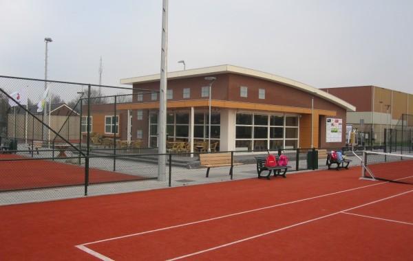 Sportkantine tennisvereniging van Polanen te Klundert